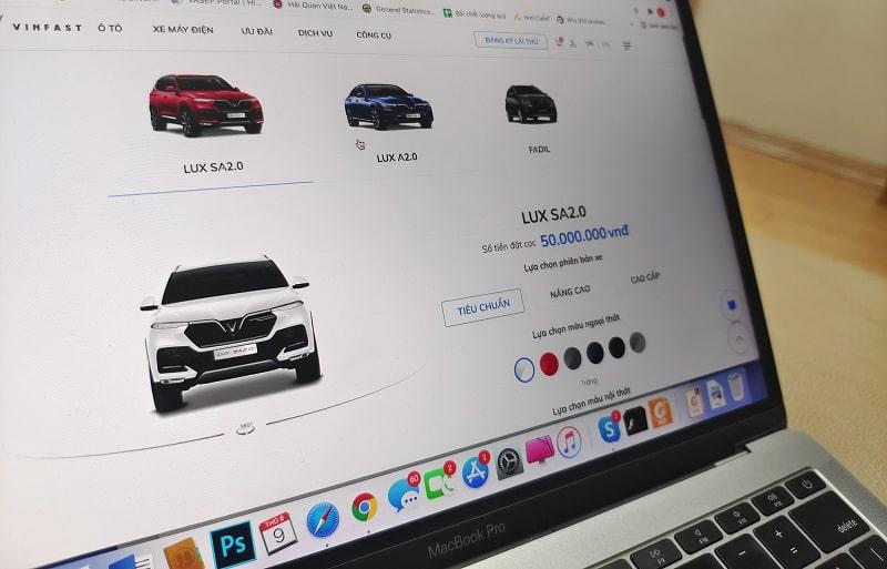 Hướng dẫn mua xe VinFast trực tuyến: Nhanh chóng, tiện lợi và an toàn