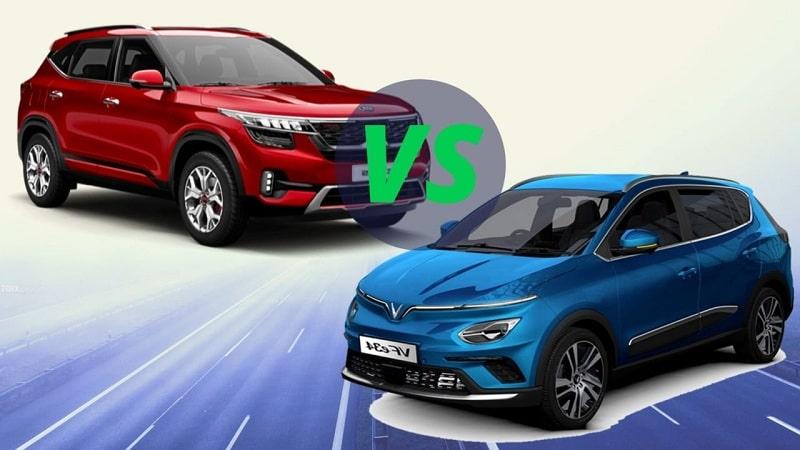 So sánh Kia Seltos và VF e34 – Nên mua dòng xe nào thì tốt nhất?