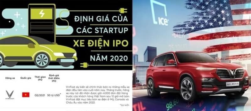 Mục tiêu của VinFast tại Mỹ là thực hiện IPO mảng sản xuất xe ô tô