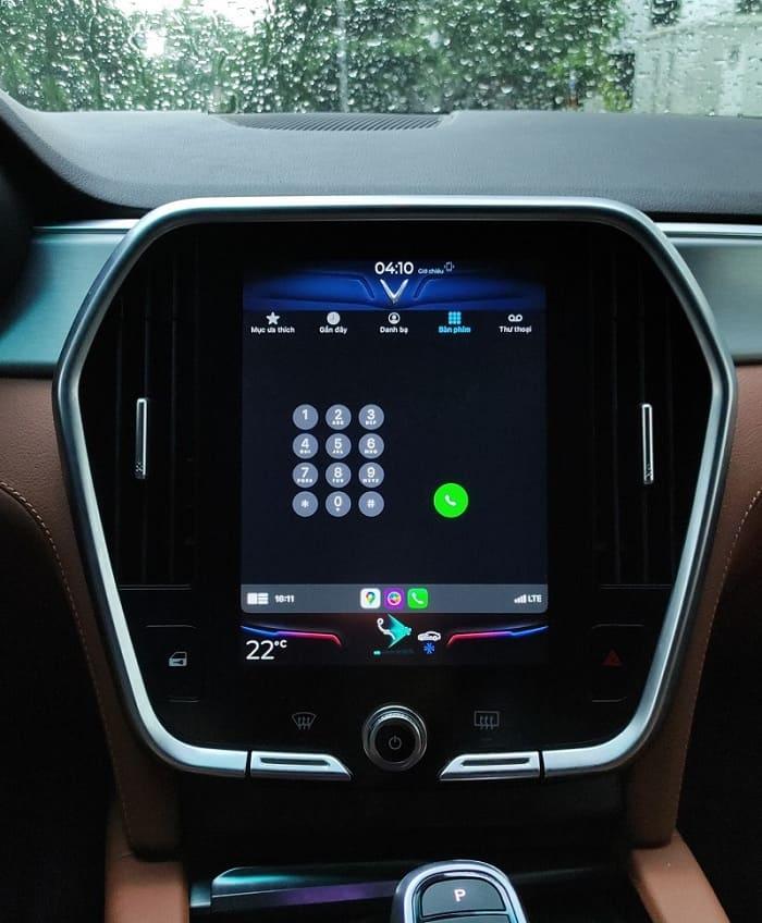 tính năng Apple CarPlay trên xe VinFast