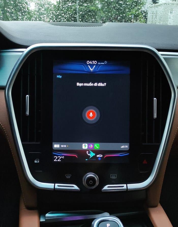 Tính năng Apple CarPlay trên VinFast được cập nhật trên dòng Lux 3
