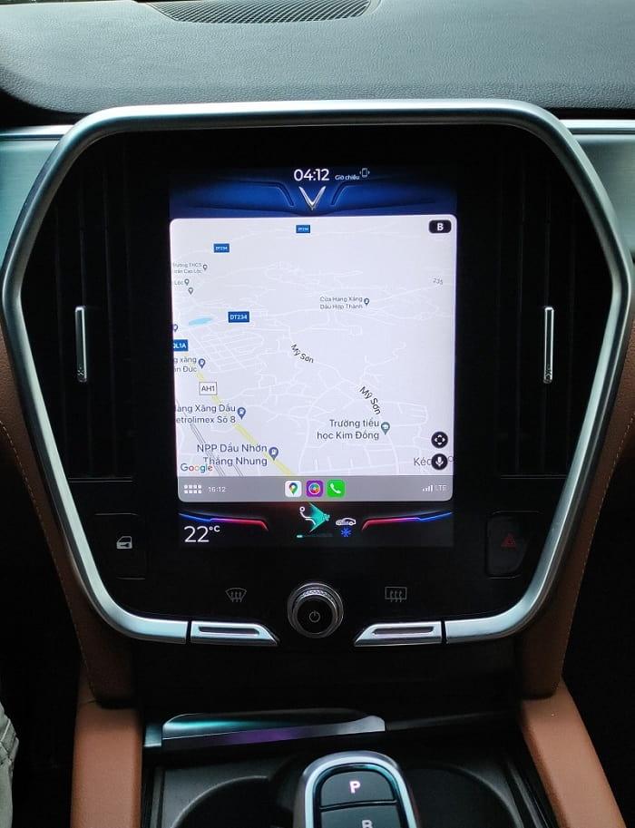 Tính năng Apple CarPlay trên VinFast được cập nhật trên dòng Lux 4