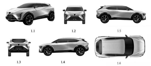VinFast đăng ký mẫu xe hoàn toàn mới
