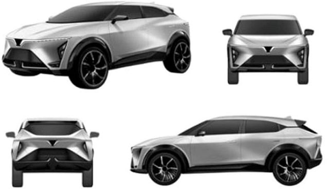 VinFast lộ diện mẫu ô tô mới VF e34P: Có điều gì đặc biệt?
